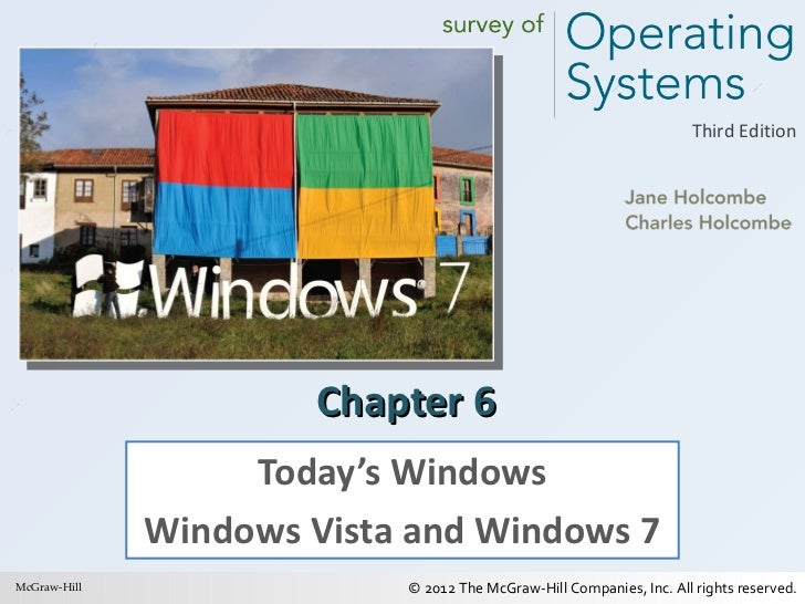 Chapter 6 Today's Windows Windows Vista and Windows 7 McGraw-Hill