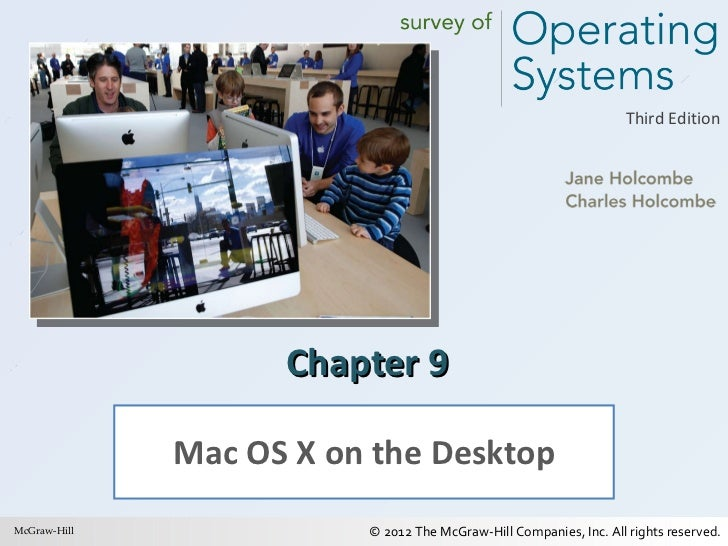 Chapter 9 Mac OS X on the Desktop McGraw-Hill