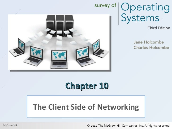 Chapter 10 The Client Side of Networking McGraw-Hill