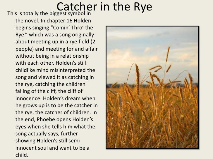 an analysis of the catcher in the rye an innocence lost