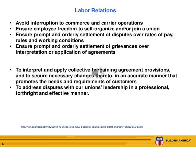an analysis of the employer relations and labor union in the united states throughout the history Labor unions have existed in one form or another in the united states since the birth of the country they were created in an effort to protect the working population from abuses such as sweatshops and unsafe working conditions.