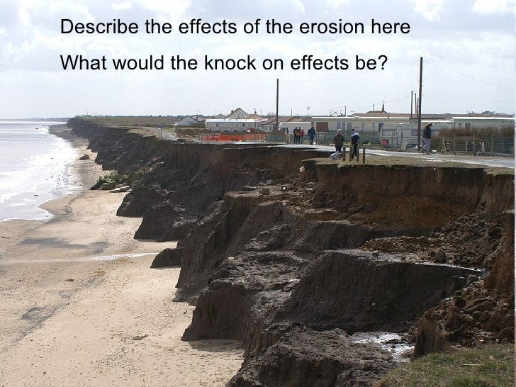 an analysis of rapid coastal erosion The model¶ the invest coastal vulnerability model produces an exposure index raster and a coastal population raster the exposure index raster contains ranks of the relative exposure of different coastlines segments to erosion and inundation caused by storms within the same coastal region of interest.