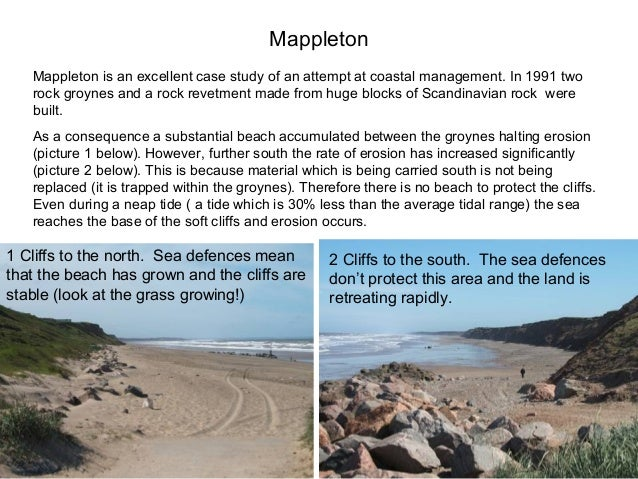 holderness coast case study cliff collapse