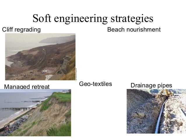 Soft engineering coastal protections