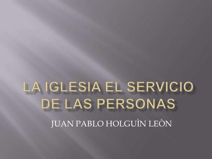 JUAN PABLO HOLGUÌN LEÒN