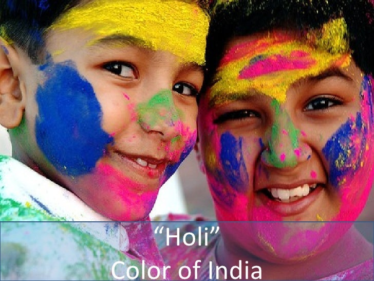 """ Holi"" Color of India"