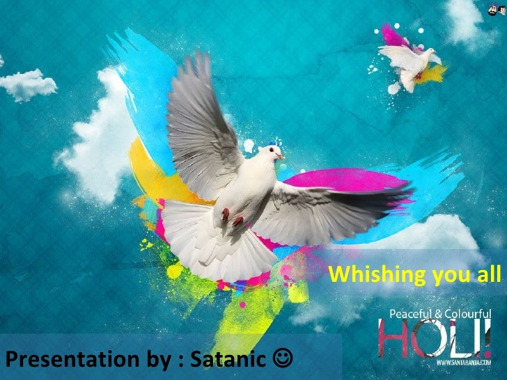 Whishing you all Presentation by : Satanic  