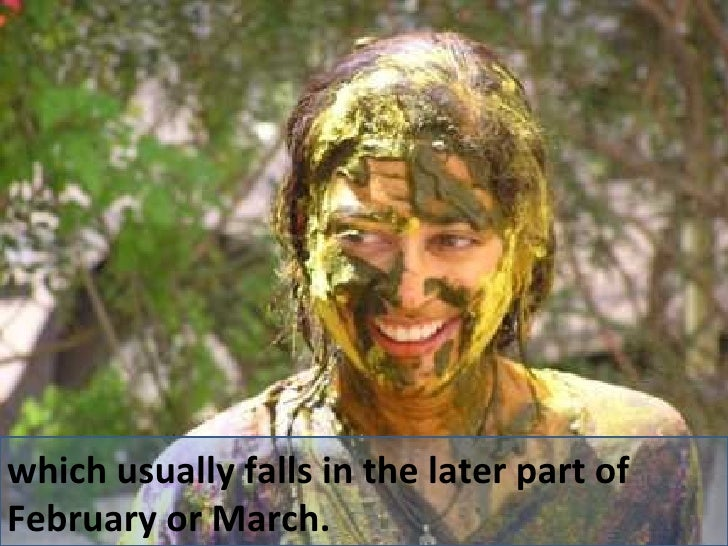 which usually falls in the later part of February or March.