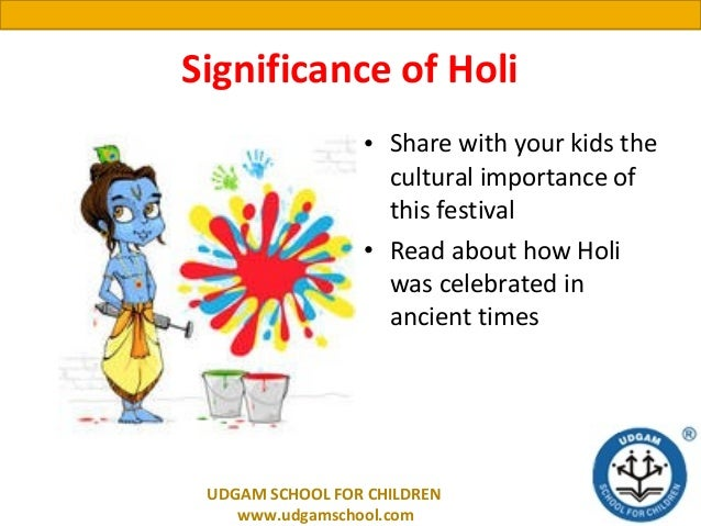 about holi for kids
