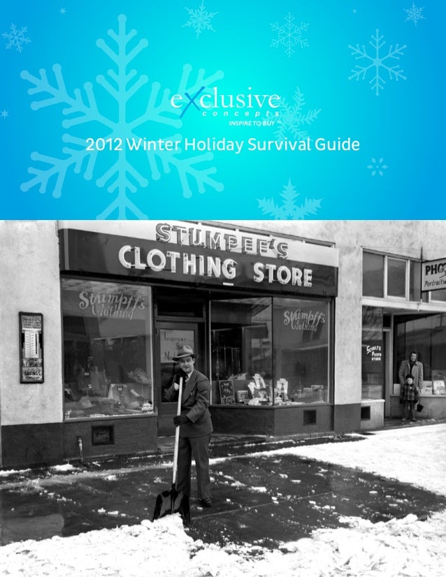TM TM Tick. Tock. Sale. Conversions On Demand 2012 Winter Holiday Survival Guide