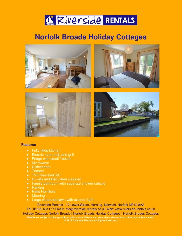 Holiday Cottage Norfolk Broads Owlswick