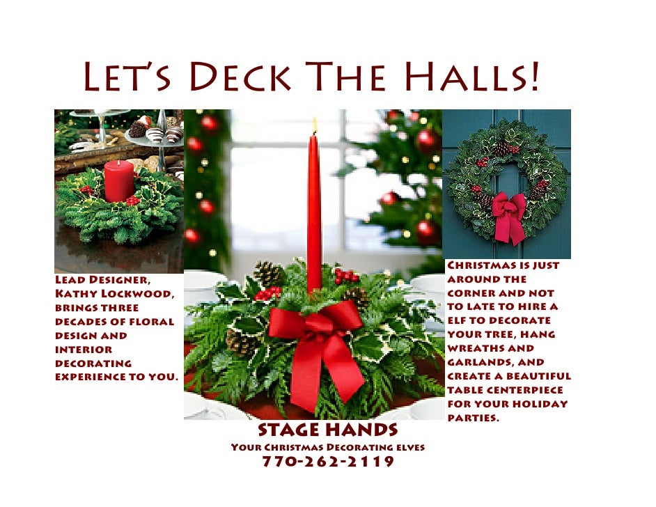 holiday decorating service - Christmas Decorating Services