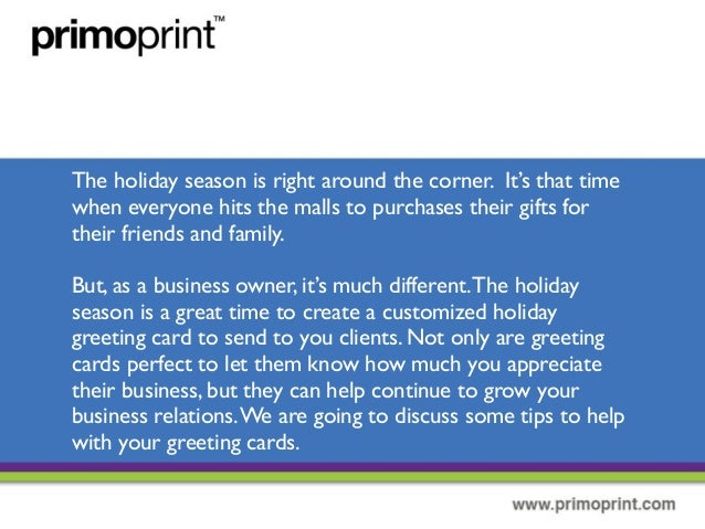 Holiday greeting cards can benefit your company sending out holiday greeting cards 2 m4hsunfo