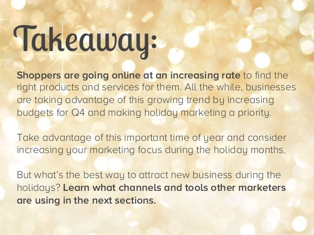 47 Stats for Remarkable Holiday Marketing Slide 11