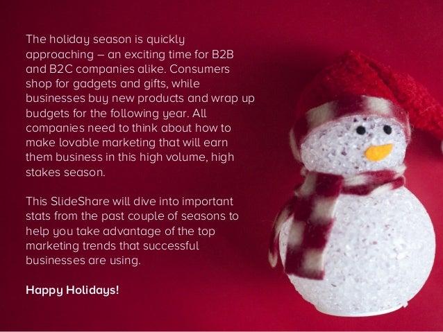 47 Stats for Remarkable Holiday Marketing Slide 2