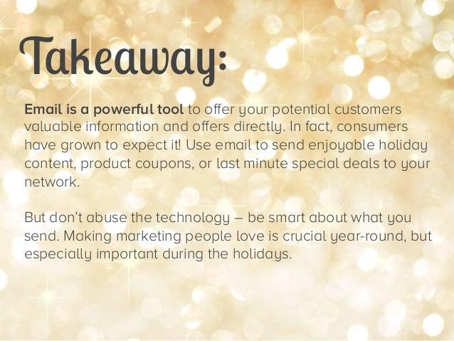 47 Stats for Remarkable Holiday Marketing Slide 34
