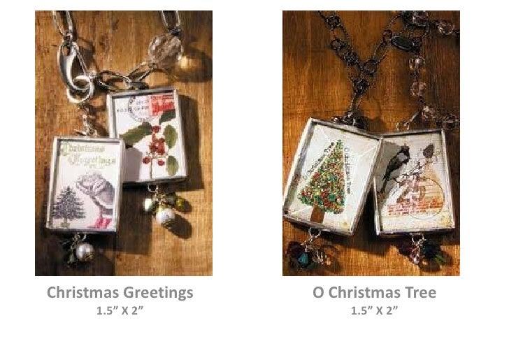 """Christmas Greetings<br />1.5"""" X 2""""<br />O Christmas Tree<br />1.5"""" X 2""""<br />"""