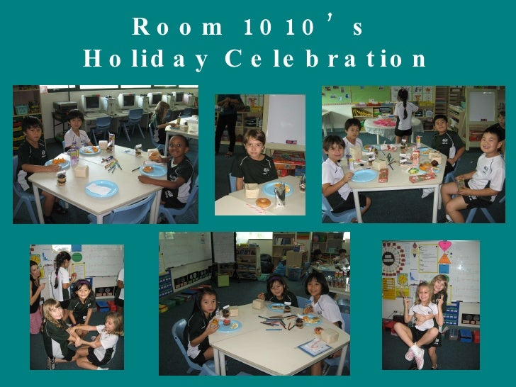 Room 1010's  Holiday Celebration