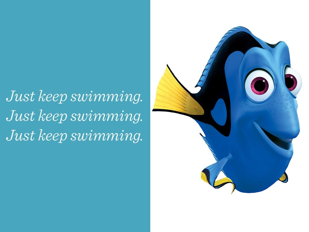 FINDING NEMO 3D Clip - 'Just Keep Swimming' - YouTube |Just Keep Swimming