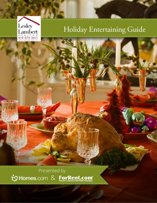 Holiday Entertaining GuidePresented by     &