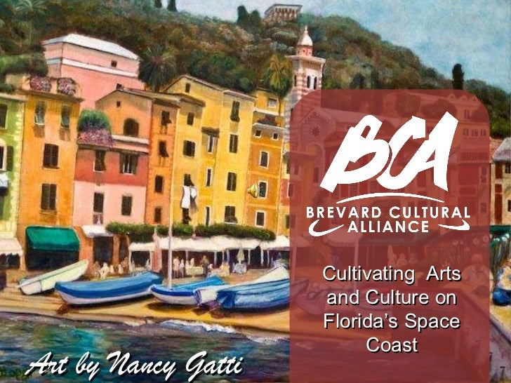 Cultivating  Arts and Culture on Florida's Space Coast Art by Nancy Gatti