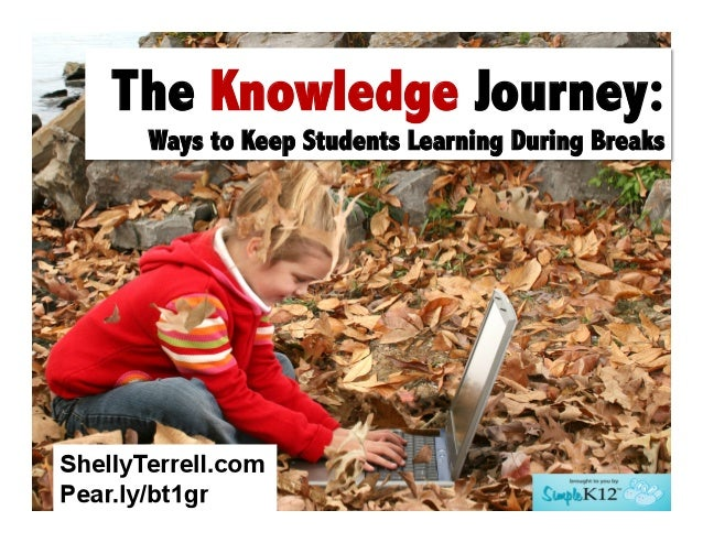 The Knowledge Journey: Ways to Keep Students Learning During Breaks