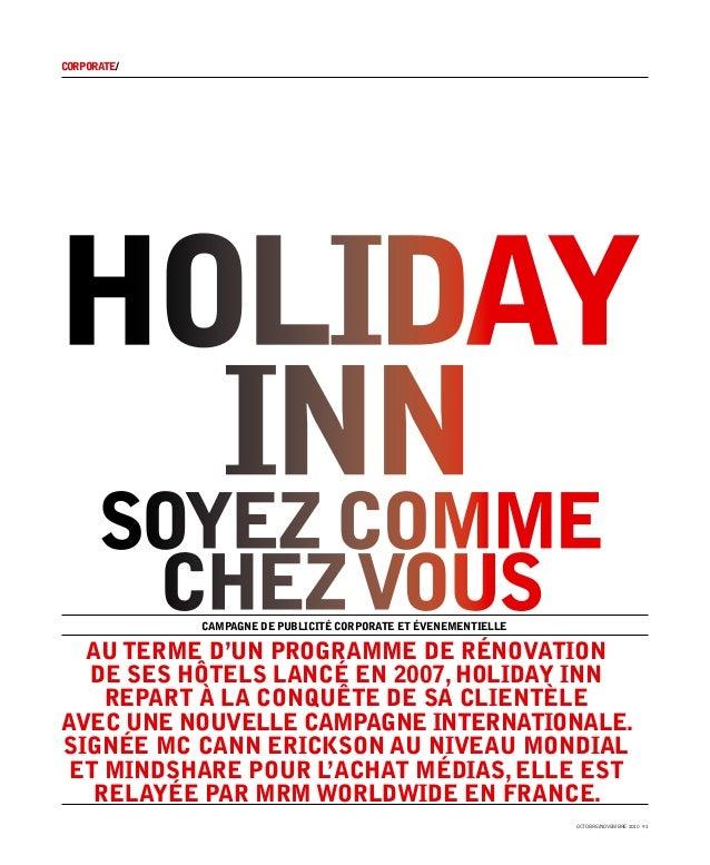corporate/holiday   innsoyez comme             chez vous              campagne de publicité corporate et évenementielle  A...