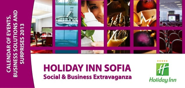 Holiday Inn Sofia Event Calendar