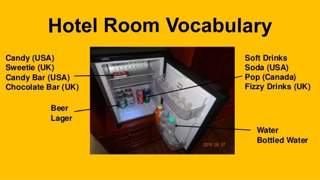 Holiday Inn Hotel Room Vocabulary