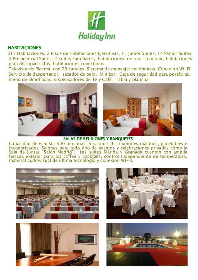 CONOCE AL HOLIDAY INN MADRID BERNABEU Slide 2