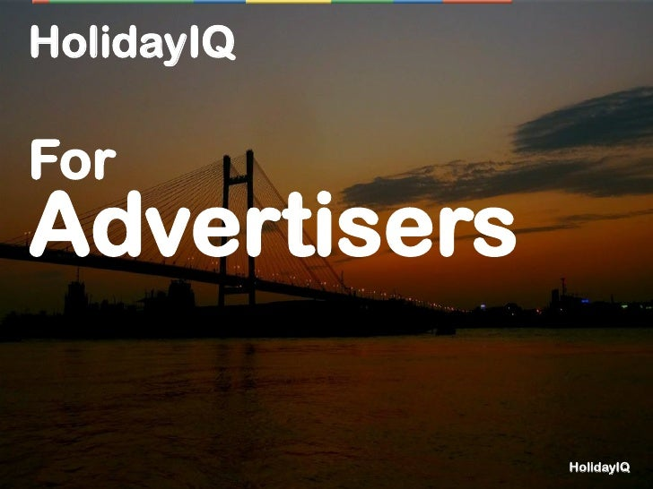 HolidayIQForAdvertisers              HolidayIQ