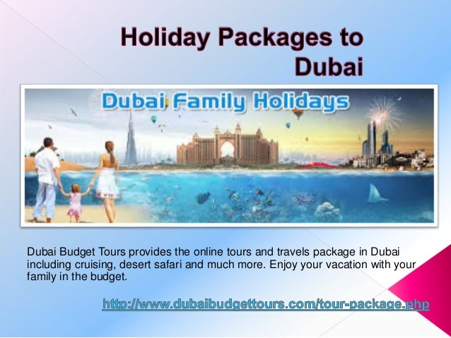 Cheap Holiday Packages to Dubai from Dubai Budget Tours