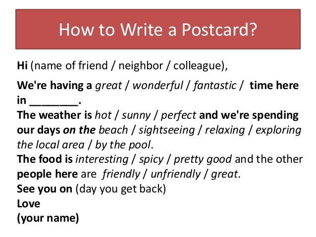 Where To Write Postcard – Best Postcards 2017 Photo Blog