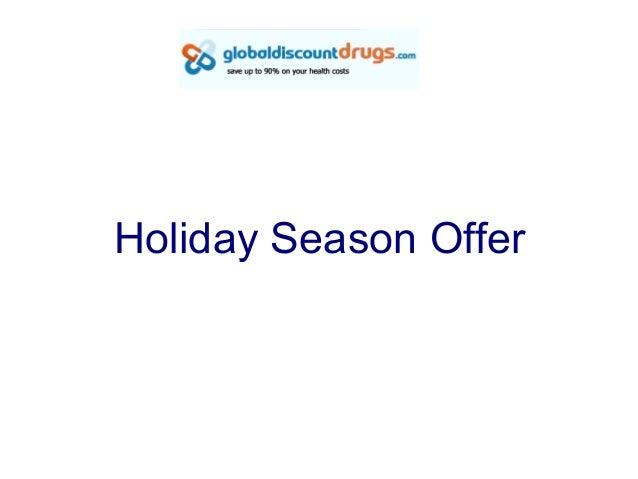 Holiday Season Offer