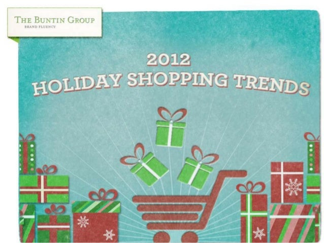 OVERVIEWMuch has been written about predicted and continuing-to-evolve trends for the 2012holiday retail shopping world. W...