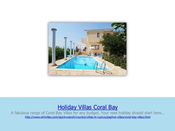 Holiday Villas Coral BayA fabulous range of Coral Bay Villas for any budget. Your next holiday should start here...       ...
