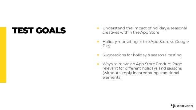 Webinar: Holiday and Seasonal App Store Marketing Strategies Slide 3