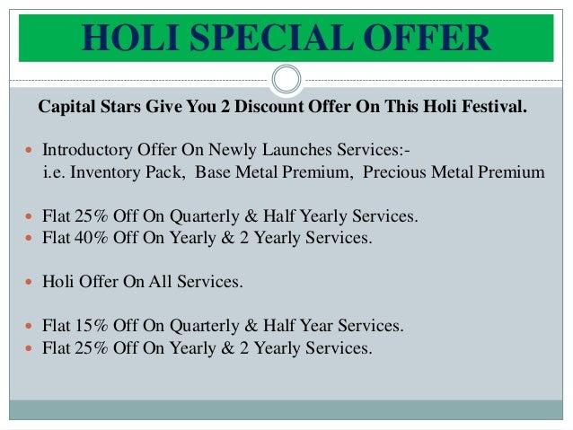 Holi special offer Slide 2