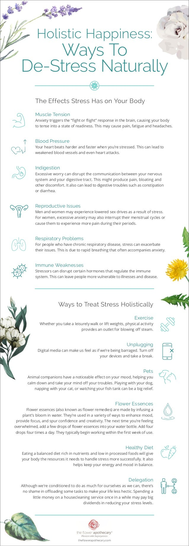 Holistic Happiness: Ways To De-Stress Naturally