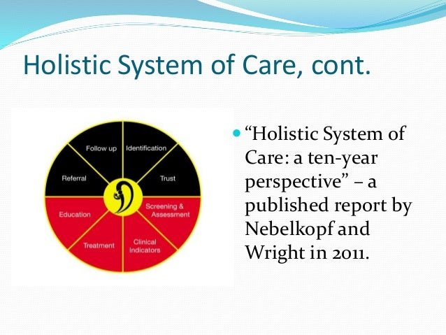 holistic approach to care Supporting the palliative client – a holistic approach date: saturday 26 may  2018 time: 9:30am – 4:15pm cost: $95 location: building 224, bundoora.