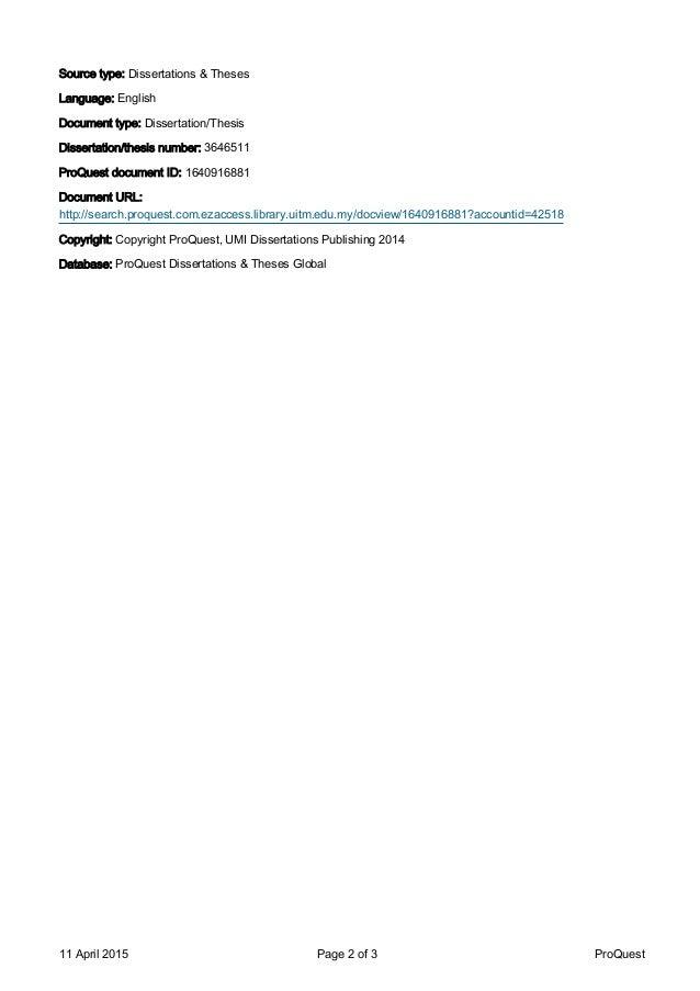 dissertation publishing company