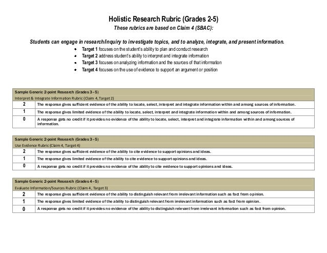research paper rubric on the economy Modeled after rubric used in the uc davis english department composition program the a paper the b paper the c paper the example of a grading rubric for a term.