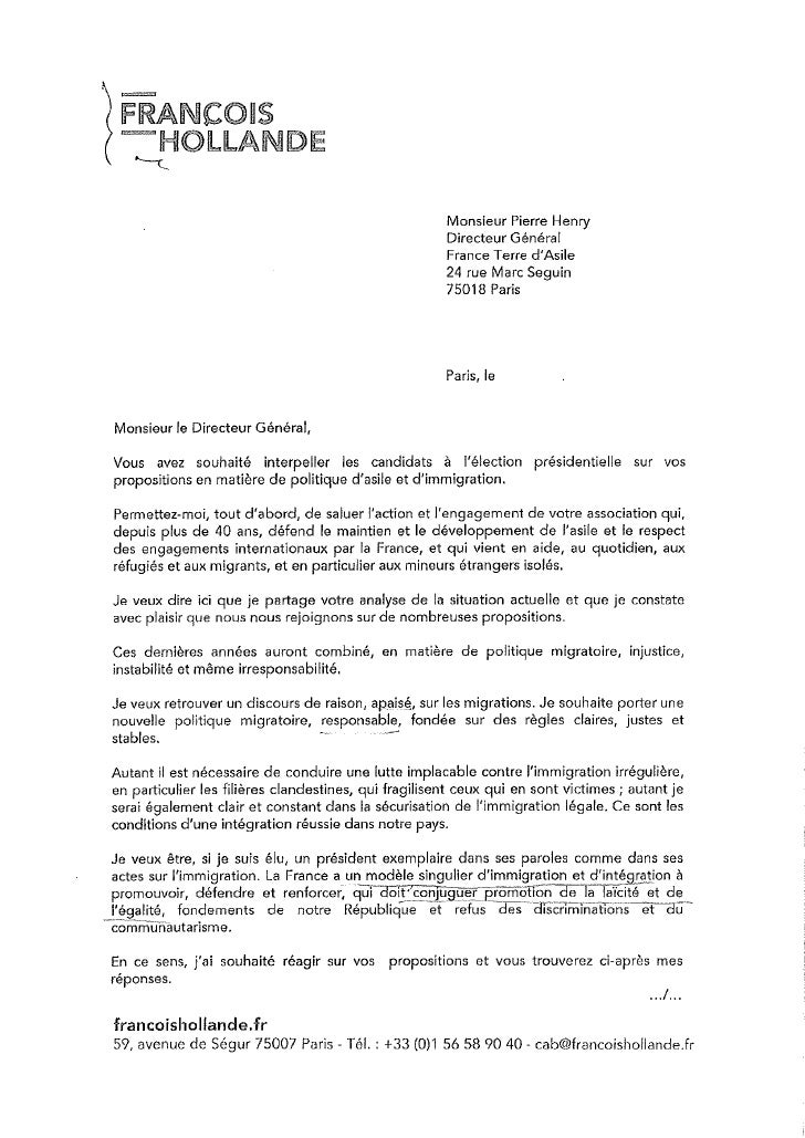 Hollande franceterredasile