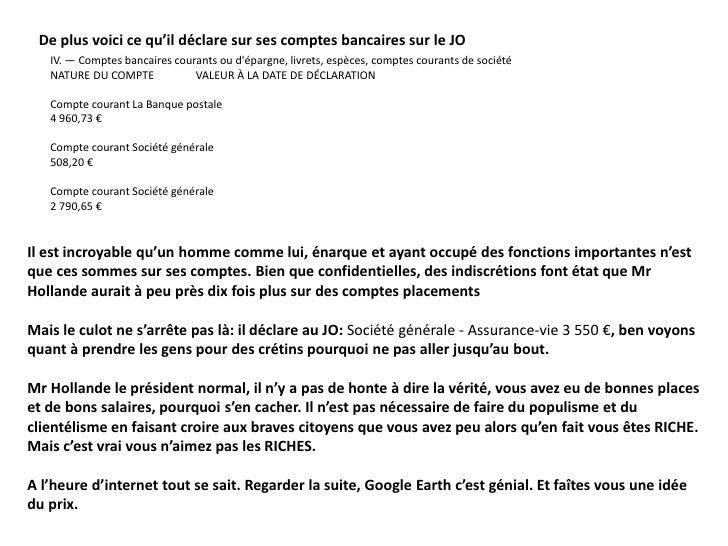 Hollande Et Ses Biens5