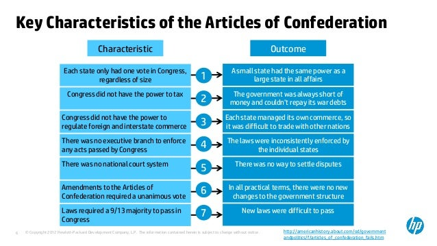 a history of the articles of confederation This page describes the articles of confederation home  united states  history  american revolution  causes and effects  articles of  confederation.