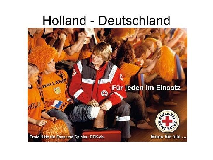Holland - Deutschland