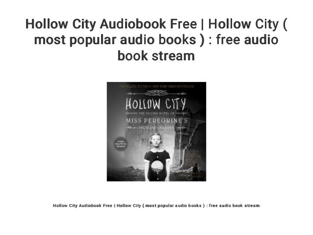 Hollow City Audiobook Free | Hollow City ( most popular