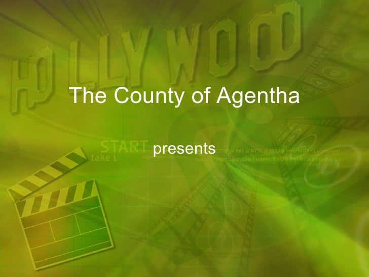Hollywood Powerpoint Presentation Ppt Template