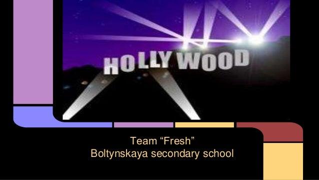 """Team """"Fresh"""" Boltynskaya secondary school"""