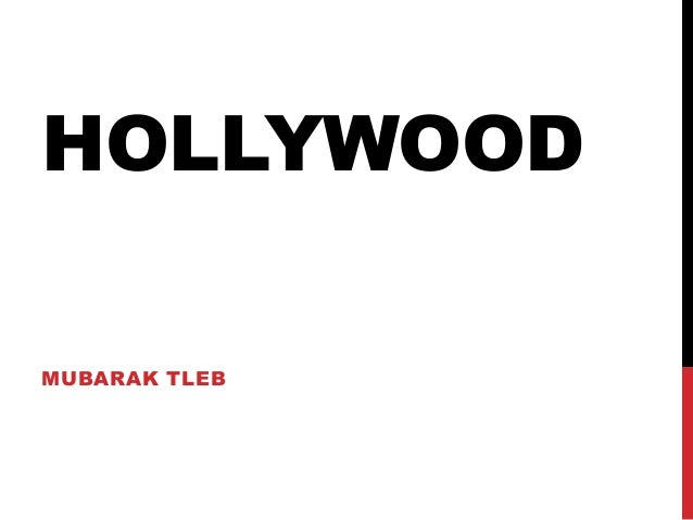 HOLLYWOOD MUBARAK TLEB